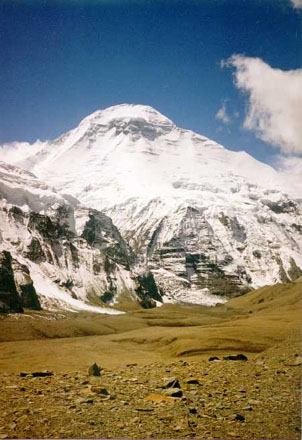 Dhaulagiri from the North.