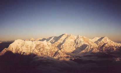 View to the Annapurna.